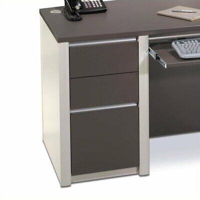 Bestar Connexion Office 1 Drawer Filing Cabinet In Slate Sandstone