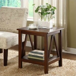 Buy Linon Home Decor Titian Antique End Table Online