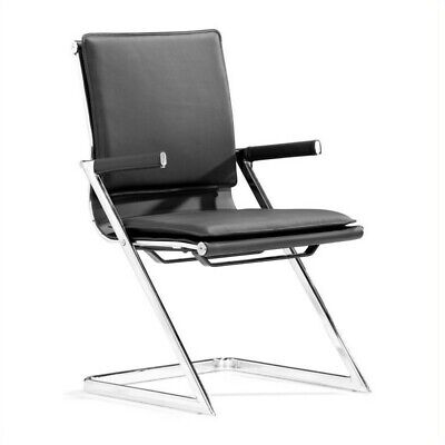 Zuo Lider Plus Conference Guest Chair In Black Set Of 2
