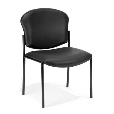 OFM Manor Series Anti-Bacterial Guest Reception Chair in Black (Ofm Guest Reception)