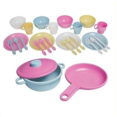 KidKraft 27 Piece Kitchen Dish Play set in Pastel