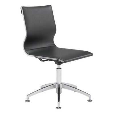 Zuo Glider Conference Chair In Black