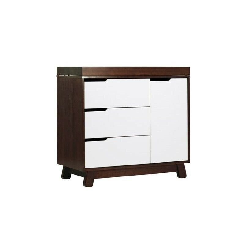 Babyletto Hudson 3 Drawer Dresser with Removable Changing Tray in Espresso