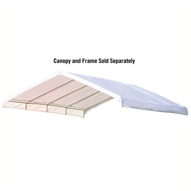 Shelterlogic 12 X 26 Ft Canopy Replacement Cover For 2 In Frame