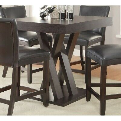 Coaster Mannes Square Counter Height Dining Table in -