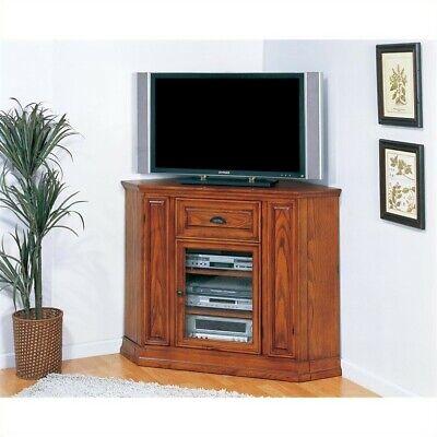 46 Boulder Creek Highboy Corner TV Stand in Oak