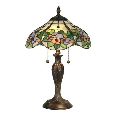 Dale Tiffany Chicago Table Lamp - 60 W Bulb - Antiqued Bronz