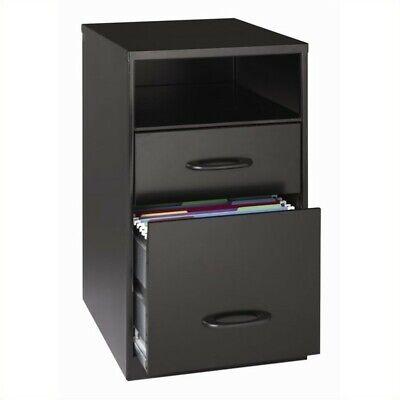 Hirsh Industries Soho 2 Drawer File Cabinet In Black