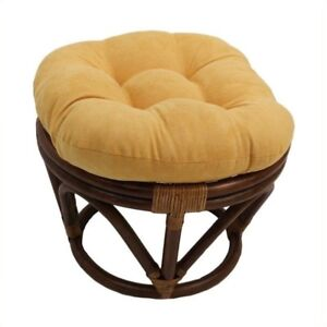 Surprising International Caravan Papasan Rattan Footstool Frame Cjindustries Chair Design For Home Cjindustriesco
