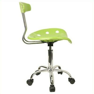 Flash Furniture Vibrant Computer Task Office Chair With Tractor Seat