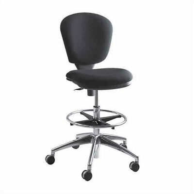 New Safco Metro Chair Chrome Black Fabric 3442bl Save 50 885551