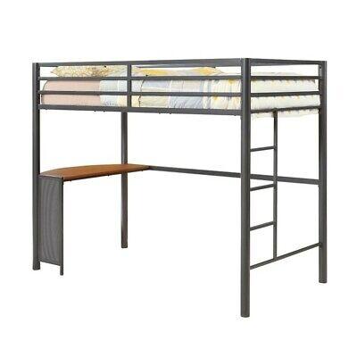Coaster Twin Metal Loft Bed in
