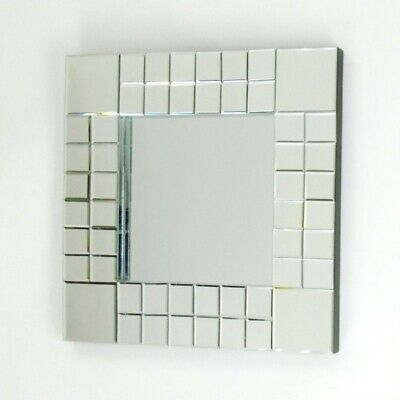 23 H x 23 W Square Beveled Wall Mirror, Wall, Square, Modern