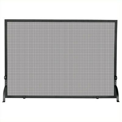 UniFlame S-1156 Single Panel Olde World Iron Screen Medium
