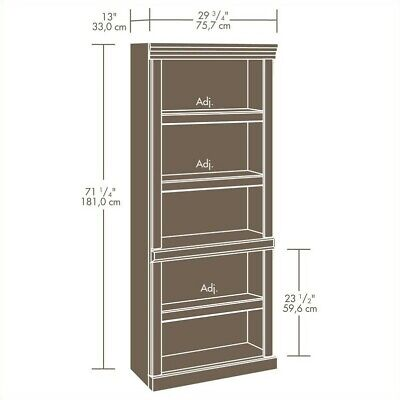 - Cherry Wall Bookcase