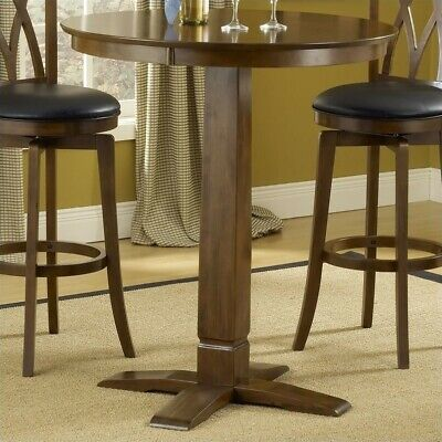 Hillsdale Dynamic Designs Pub Table in Brown Cherry