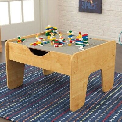 KidKraft Activity Play Table in Gray and - Gray Activity Tables