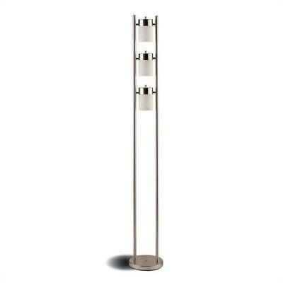 Coaster 900733 Contemporary Lamp, Silver