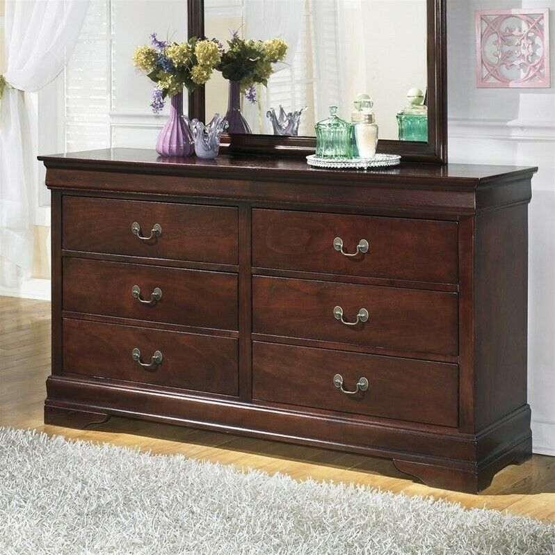 Signature Design By Ashley Alisdair 6-drawer Double Dresser In Brown