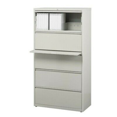 Scranton Co 5 Drawer Lateral File Cabinet In Gray