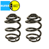 BMW E46 323Ci 323i Rear Left and Right Coil Springs Set Bilstein B3 33536750760