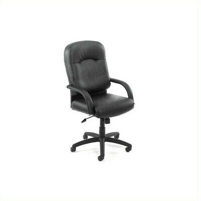 Boss Office Products Caressoft Executive Office Chair With Knee Tilt Mechanism