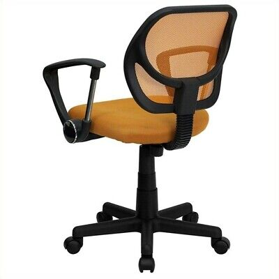 Flash Furniture Mid-back Orange Mesh Office Chair