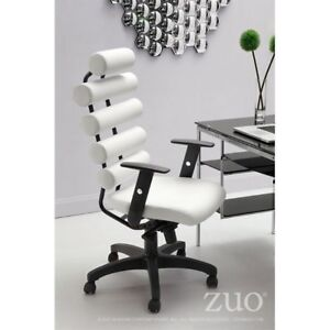 Awesome Zuo Modern Unico Office Chair White 205051 Forskolin Free Trial Chair Design Images Forskolin Free Trialorg