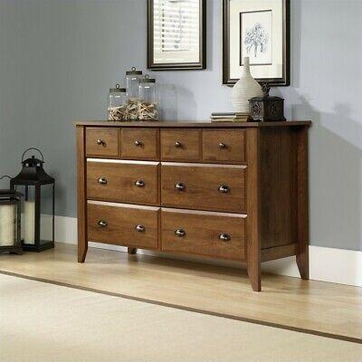 Sauder Shoal Creek 6 Drawer Dresser in Oiled Oak ()