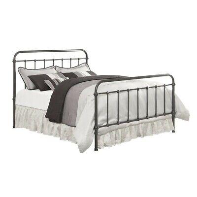 - Coaster Livingston California King Metal Bed with Headboard in Dark Bronze