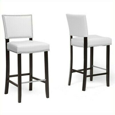 Aries Bar Stool in White