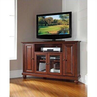 Crosley Furniture Cambridge 48-inch Corner TV Stand - Vintag