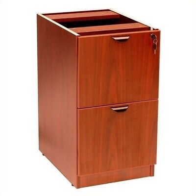 Scranton & Co 2 Drawer Vertical Wood File Cabinet in Cherry