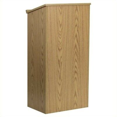 Used, Scranton & Co Stand-Up Full Podium in Oak for sale  Sterling