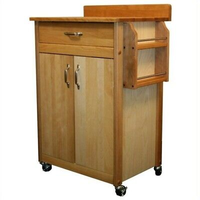 Catskill Craftsmen Kitchen Kitchen Cart - Catskill Craftsmen 27 Inch Butcher Block Kitchen Cart