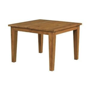 Broyhill Attic Heirlooms Counter Height Dining Table In Natural Oak Stain
