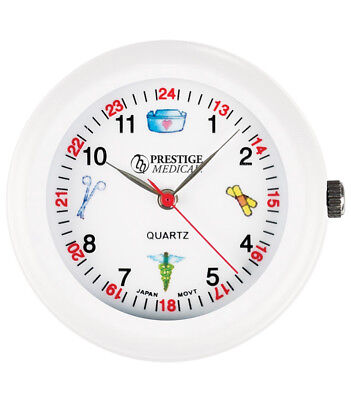 Medical Symbols Stethoscope Watch White Model 1689 Free Shipping