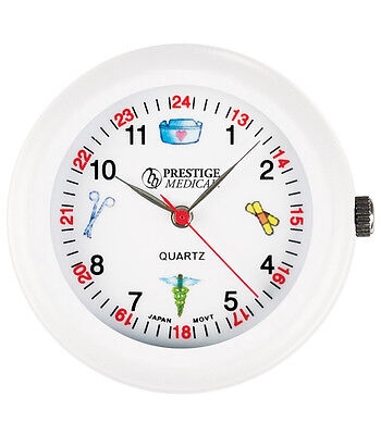 Medical Symbols Stethoscope Watch White 1 Ea