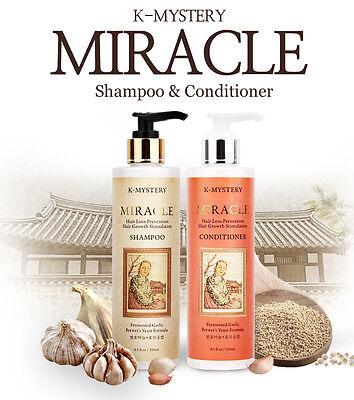K-Mystery Garlic Shampoo & Conditioner for Preventing Hair Loss (8.5oz*2)