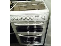HOTPOINT CREDA 60CM NEW MODEL ELECTRIC COOKER, 4 MONTHS WARRANTY, FREE LOCAL DELIVERY