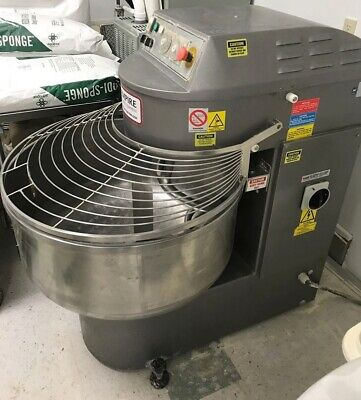 2006 Empire Baking Spiral Dough Mixer Model Vela 130 Commercial Italy Used Light