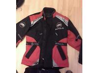 Motorcycle cycle jacket xxs