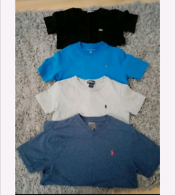 Boys tshirts (7-10) tommy,lacoste,ralph,hugo boss