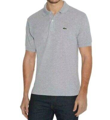 LACOSTE Marl L.12.12 Original Polo Shirt Size 6. UK L Grey ⭐AUTHENTIC⭐ rrp £80
