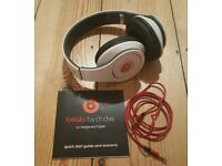 For sale is a Beats Studio by Dr.Dre Monster headphones.