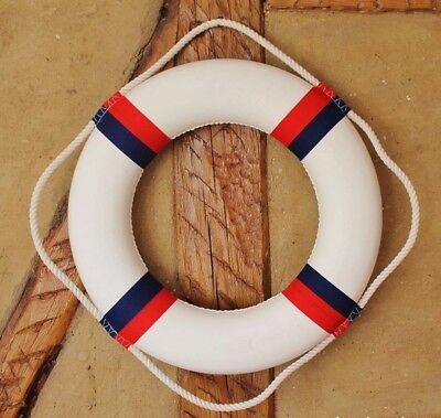 Deko Wandbild Maritim Spruch WELCOME Rettungsring Segelboot Fliese Geschenkidee
