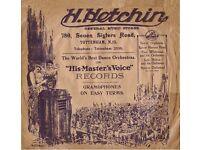 HETCHIN'S GRAMOPHONE NEEDLE TIN WANTED ************************************ RECORD PLAYER NEEDLES