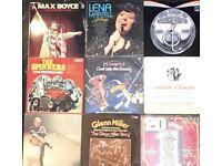 9 x vinyl LP's mixed artists