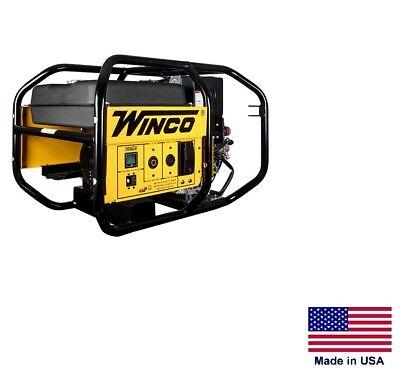 Portable Generator Industrial - 6000 Watt - 9 Hp Kohler Diesel - 120240v