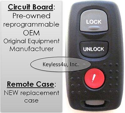 05 2005 Mazda 3 Mazda3 KPU41846 keyless remote control clicker transmitter FOB